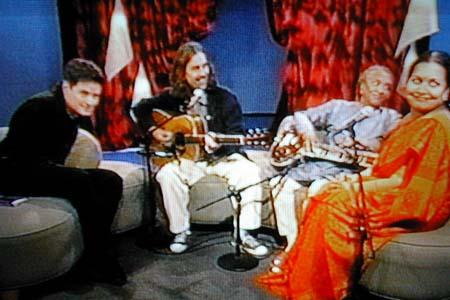 VH1s John Fugelsang George Harrison Ravi Shankar Sukanya