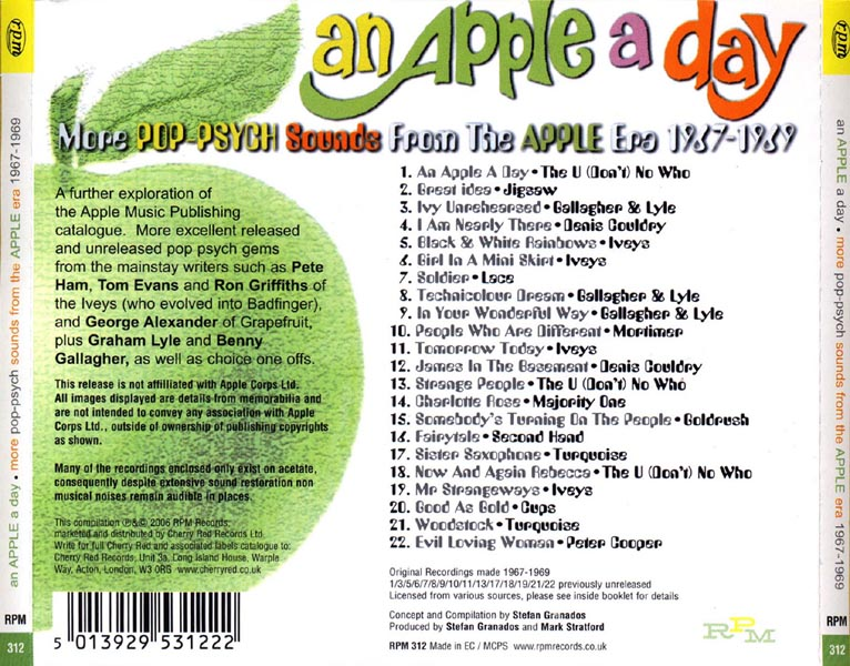 essay apple an apple a day liner notes sample badfinger library
